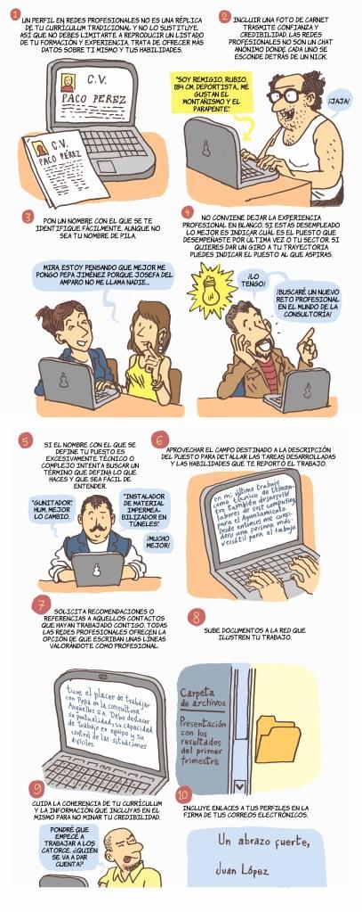 Consejos básicos para el uso de las redes profesionales